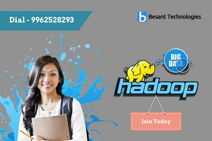 Besant Technologies offer Big Data Hadoop Training in Bangalore by industry expert. Rated as No.1 Training Institute in Bangalore. For details Call – 9962528293. http://www.besanttechnologies.com/training-courses/data-warehousing-training/big-data-analytics-training-institute-in-chennai