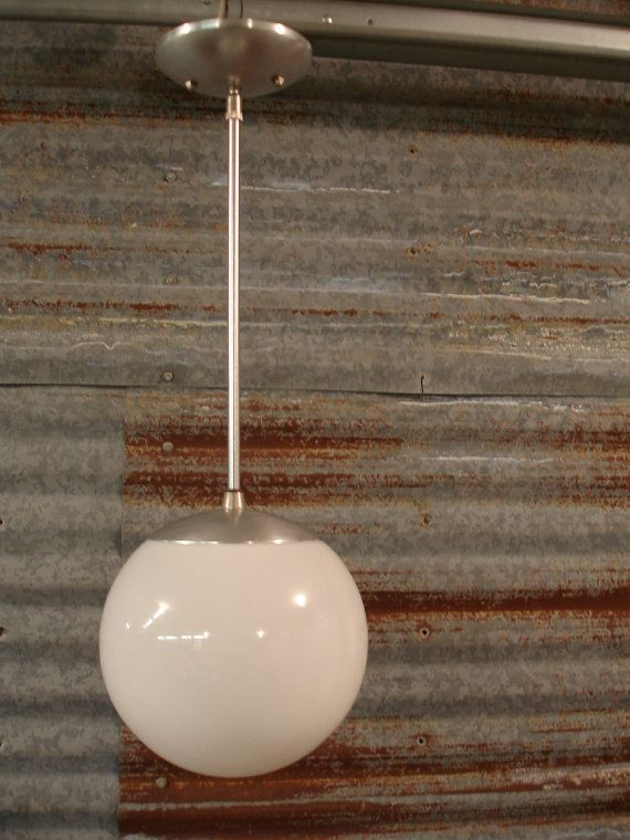 24 best west point lighting images on pinterest pendant lights mid century del val aluminum globe pendant light fixture aloadofball Choice Image