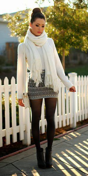 48 Best Mini Skirt Amp Boots Images On Pinterest Fall