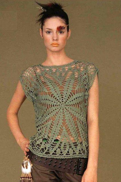 Graficos y Crochet: Blusas
