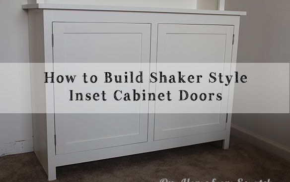 A Diy Video On How To Make Shaker Style Inset Cabinet