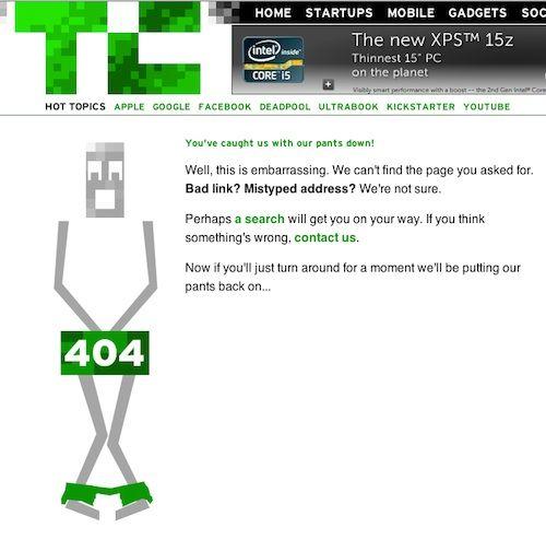 Techcrunch 404