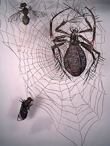 Thomas Hill wire sculpture