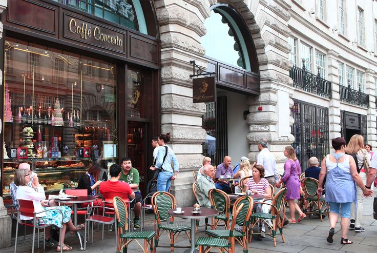 In the traffic-free environment of Regent Street for #SummerStreets, a must-visit is Caffe Concerto, perfect for a spot of al fresco dining in the sun.