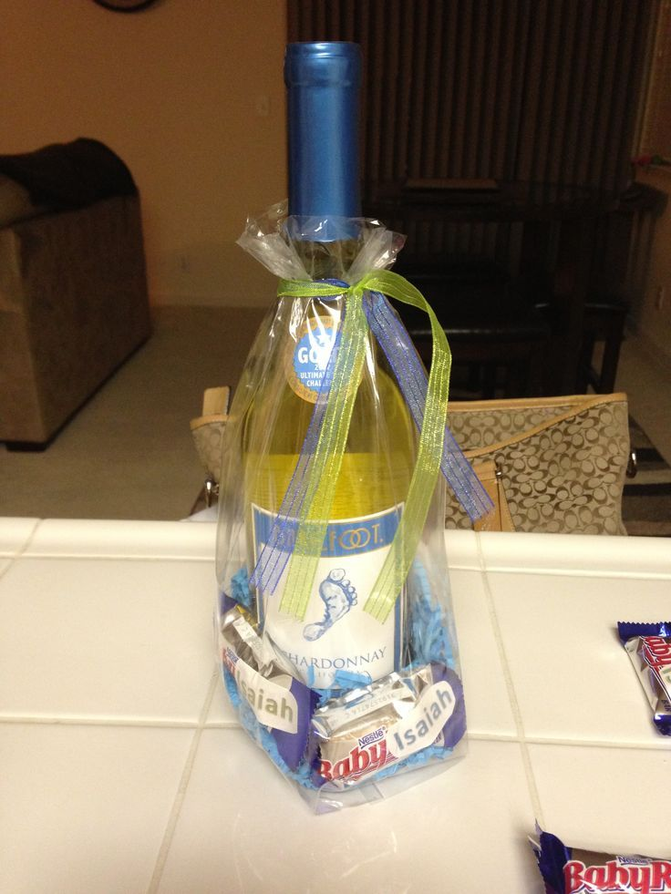 Prizes For Baby Showers ~ Baby shower prizes bare foot wine and ruth s with a