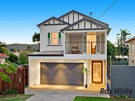 Renovated weatherboard highset