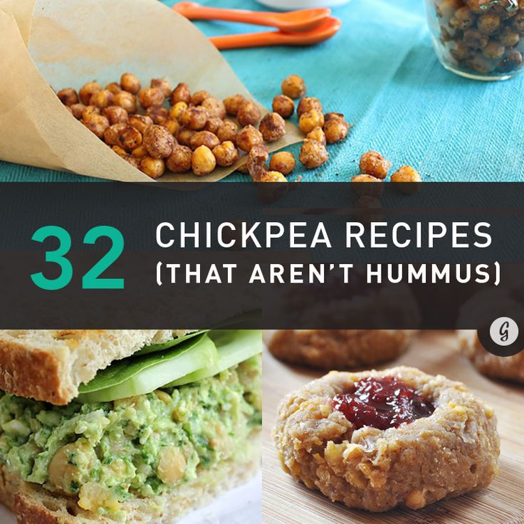 32 Simply Brilliant Ways to Use Chickpeas (That Aren't Hummus) and thanks for including my Chickpea and Edamame Salad with Mint!