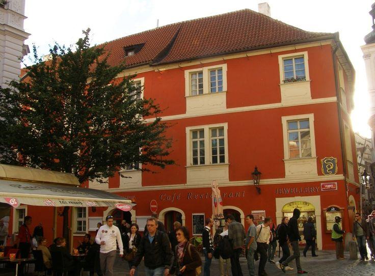 Дом «У Золотого Змея» (U Zlatého hada). Или как появился первый кофе в Праге