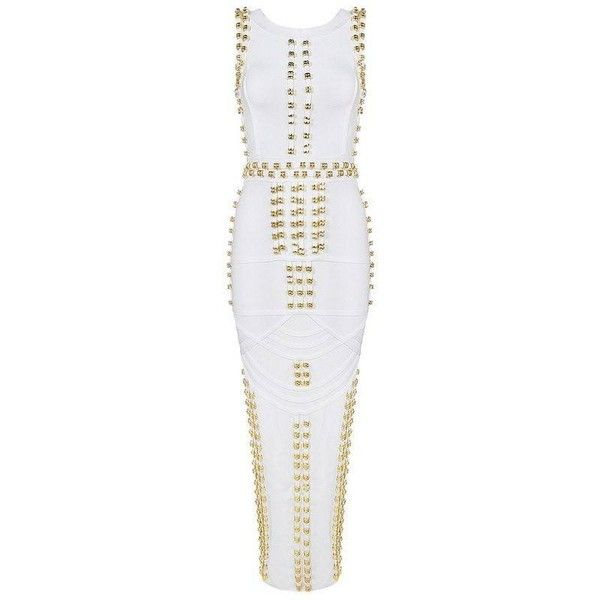 POSH GIRL Rocker Girl Bandage Maxi Plus Size Dress ❤ liked on Polyvore featuring dresses, cocktail dresses, plus size dresses, sexy maxi dresses, sexy cocktail dresses and sexy plus size dresses