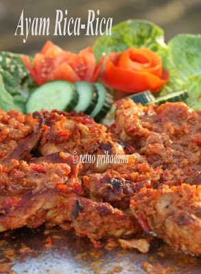 Kedai Hamburg: Madonese Style Grilled Chicken: Ayam Rica-Rica#more