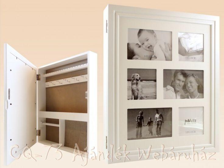 Fali ékszertartó doboz + fényképtartó C37566820 - ajándék ötletek