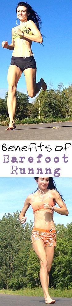 Health Benefits of Running Barefoot