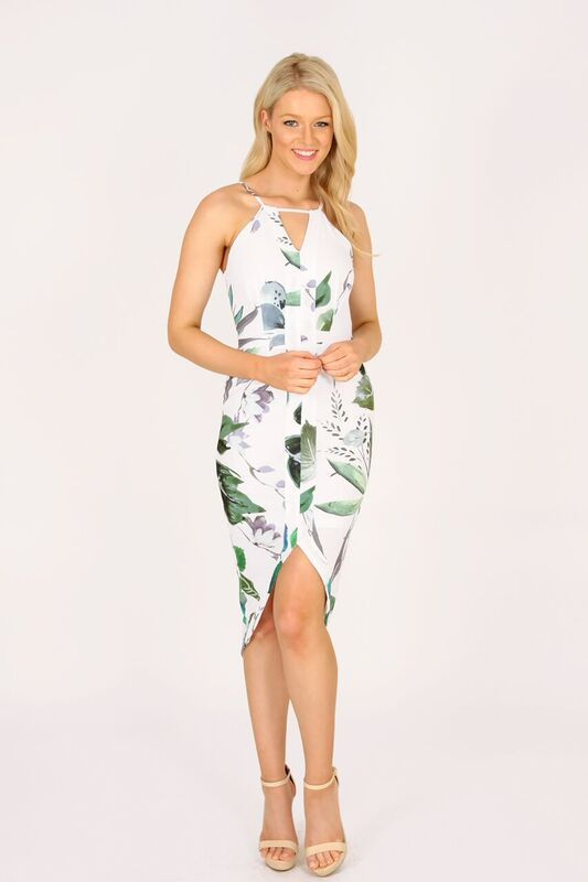 Another new arrival... Loving the style and print of this stunning dress... It's a gorgeous piece for any occasion. Limited numbers!