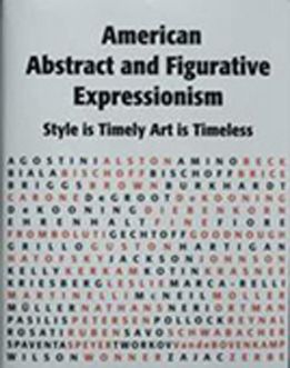 American Abstract and Figurative Expressionism: Style is Timely Art is Timeless. The book intends to show that the most engaged mainstream creative work in New York and across the USA was not restricted to non-representational or representational expressionism but rather to the creative power of the individual expressionist artist.