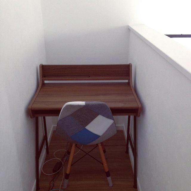 Chiiさんの、机,パソコンデスク,新築,マイホーム,男前も可愛いも好き,イームズチェアリプロダクト,のお部屋写真