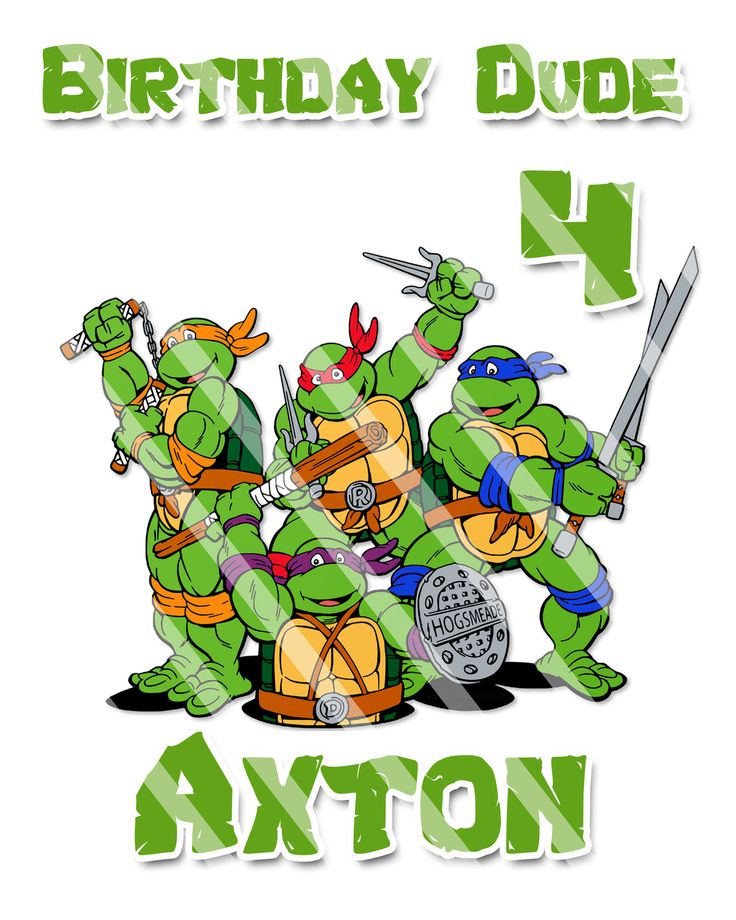 partyexpressinvitations - TMNT Ninja Turtles Tshirt Iron On Transfer , $4.25 (http://www.partyexpressinvitations.com/tmnt-ninja-turtles-tshirt-iron-on-transfer/)