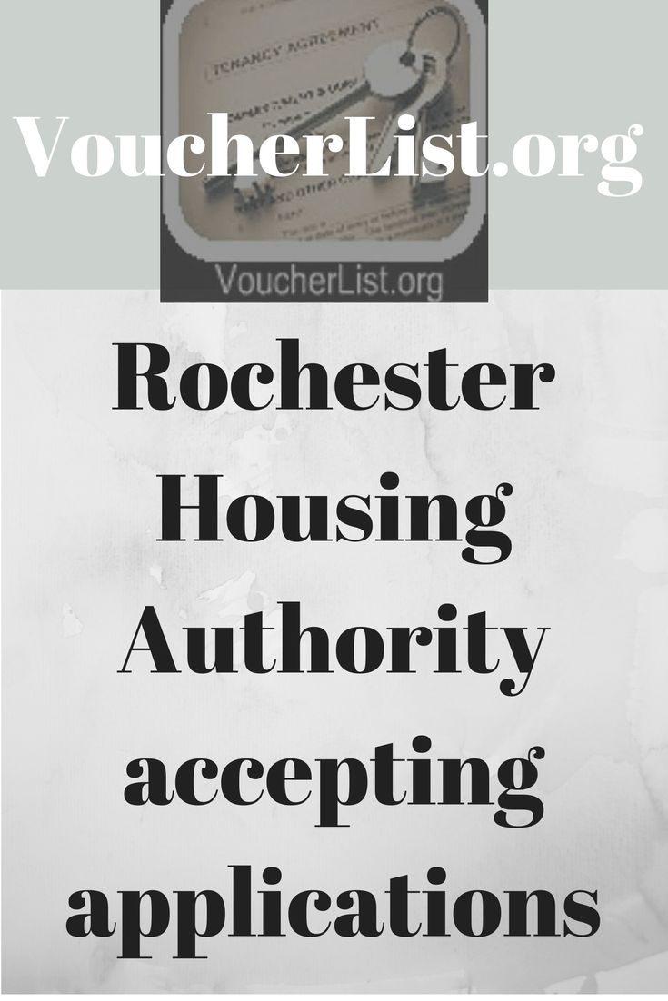 Rochester Housing Authority accepting applications