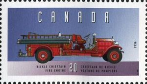 Bickle Chieftain, 1936, Fire Engine