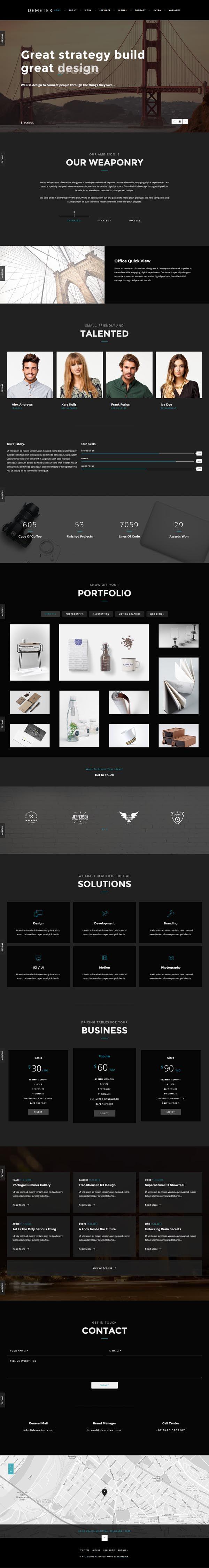 84 best Web: Design inspiration (dark) images on Pinterest   Web ...