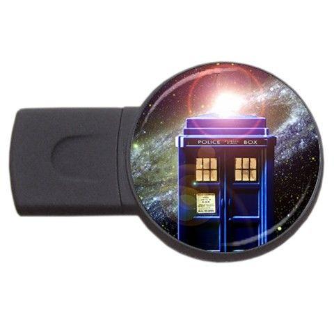 Doctor Who TARDIS 4GB USB Flash Memory Drive via Greatest Gift