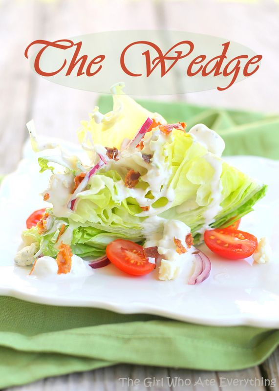 The Classic Wedge Salad
