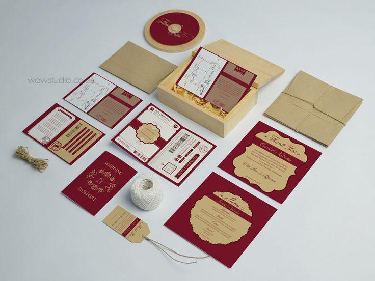 Wedding Stationery Designs - WOW Studio
