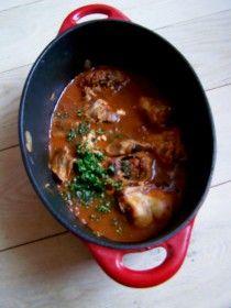 Lapin la tomate de ma grand m re recettes grand m res - Lapin cuisine marmiton ...