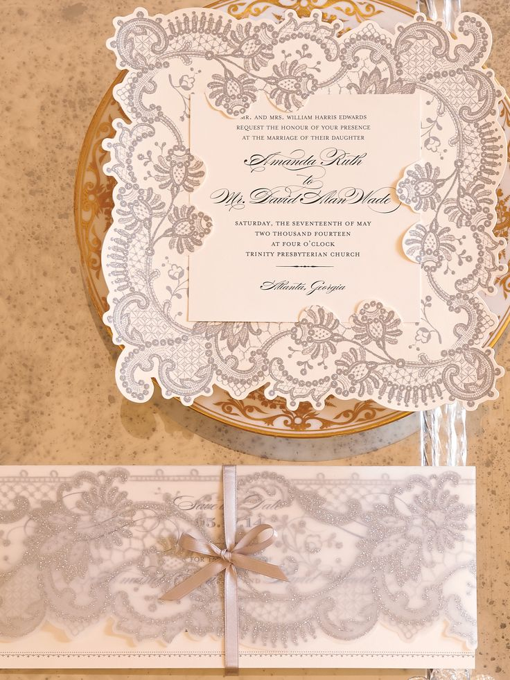 16 best Wedding Invitations images on Pinterest | Anna griffin ...