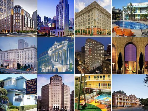 Hotels SF Hotels in SF Hotels  The 18 Essential San Francisco Hotels *****************