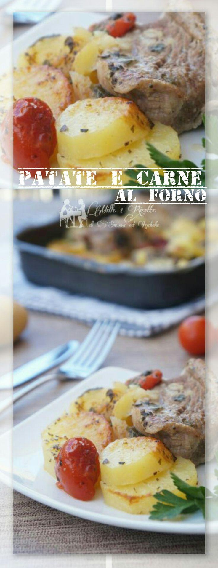 Patate e carne al forno  Ricetta Pugliese