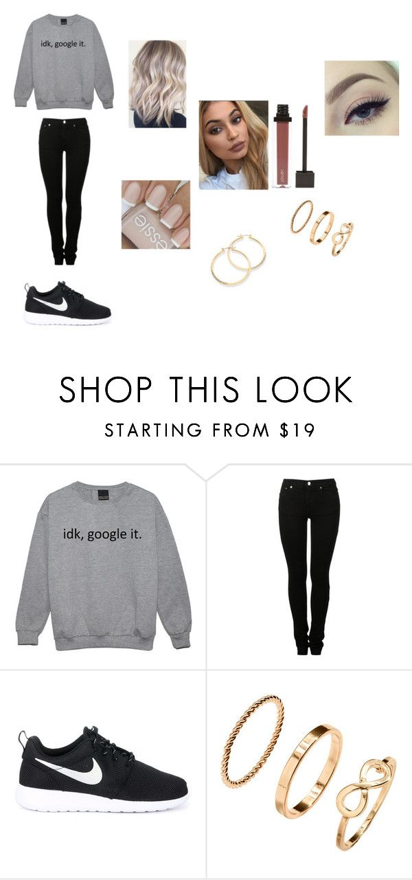 Untitled #231 by katrine-frid on Polyvore featuring MM6 Maison Margiela, NIKE and GUESS