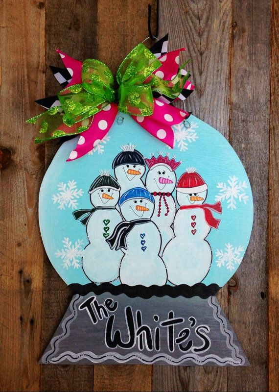 Hey, I found this really awesome Etsy listing at https://www.etsy.com/listing/217363144/flash-sale-snow-globe-door-hanger-snow