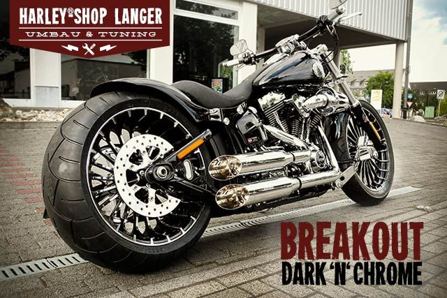 Custombike Breakout Dark 'n' Chrome