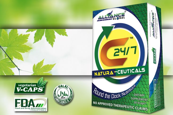 C247 is especially formulated for easy digestion and absorption into the bloodstream. Even the capsule break up quickly in the digestive tract.