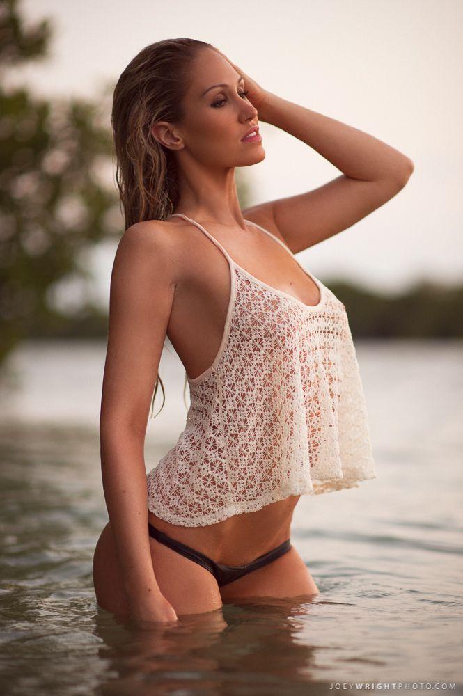 Heather Hogrefe - Swimsuit model - ENTER TO WIN-- http://joey4si.com/Pin2Win hot - summer - beach - red / black- photography - modeling - ocean - beauty - sexy - beachwear - swimwear: