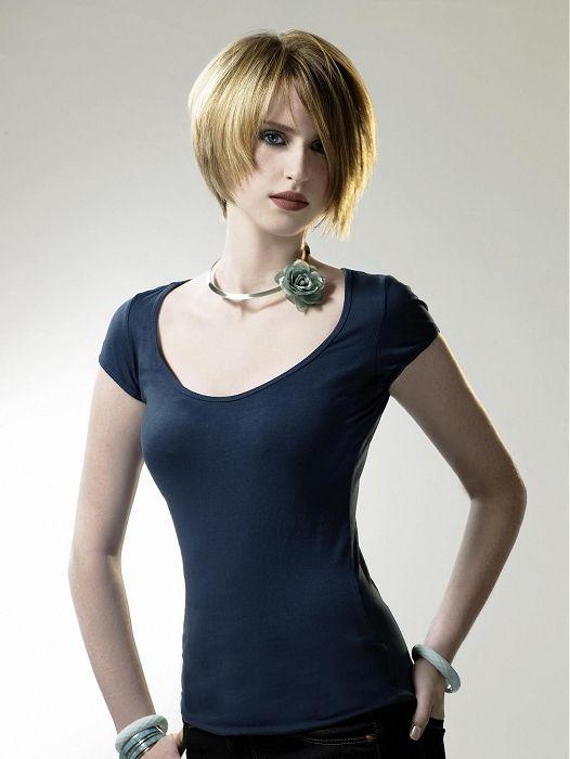 Eric Stipa - short blonde straight hair styles (13926)