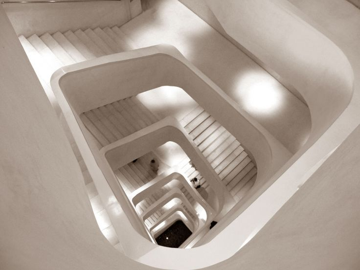Caixa Forum Madrid Staircase Museum Herzog De Meuron
