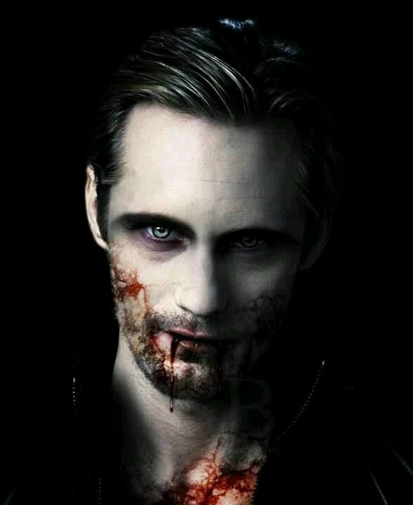 "Vampire Eric Northman played by Alexander Skarsgard in ""True Blood""."