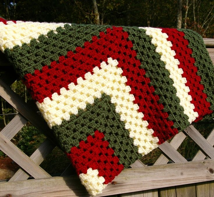 Granny Square Crochet Afghan | Crochet Afghan Granny Square | Yarn