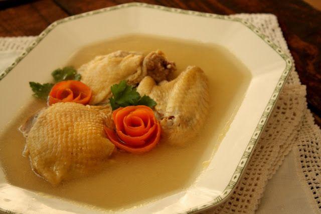 COOKING WITH ANISOARA: Racitura din gaina sau cucos ( Piftie)