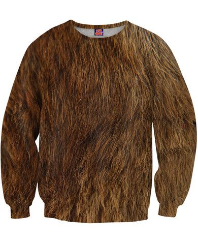 Bear Fur Sweatshirt - RageOn