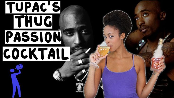 How to make Tupac's Thug Passion Cocktail - Tipsy Bartender