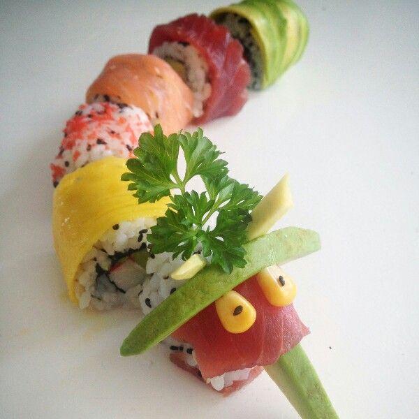 Sushi draak