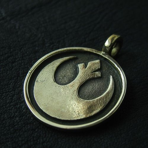 Bronze Rebel pendant. Star Wars. Science Fiction. #Pendant