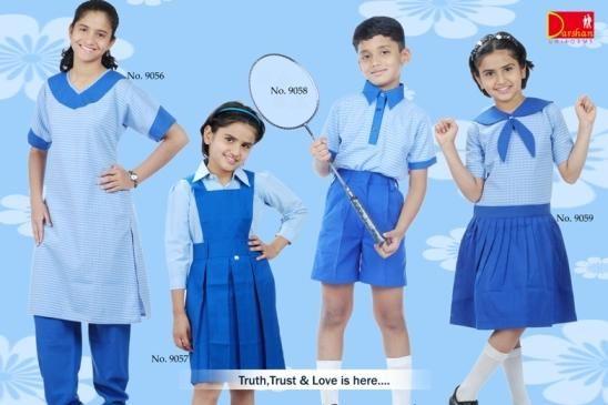 India Style School Uniform For Girls & Boys - Buy Girls School ...