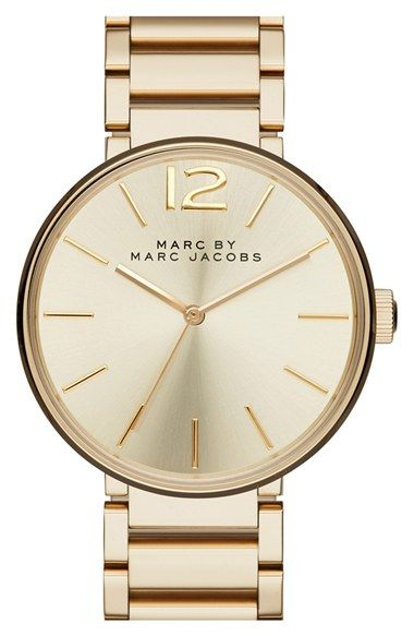 MARC BY MARC JACOBS 'Peggy' Bracelet Watch, 36mm available at #Nordstrom