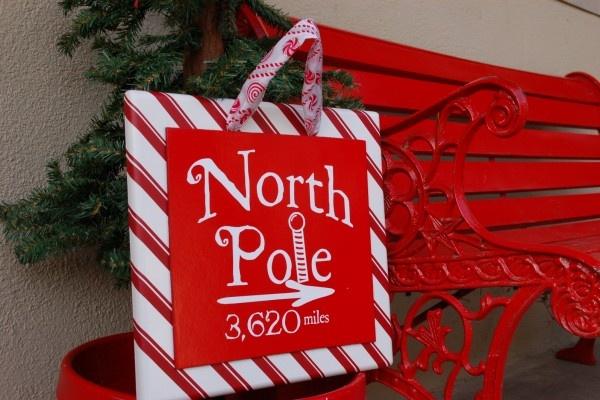PB Inspired North Pole Sign