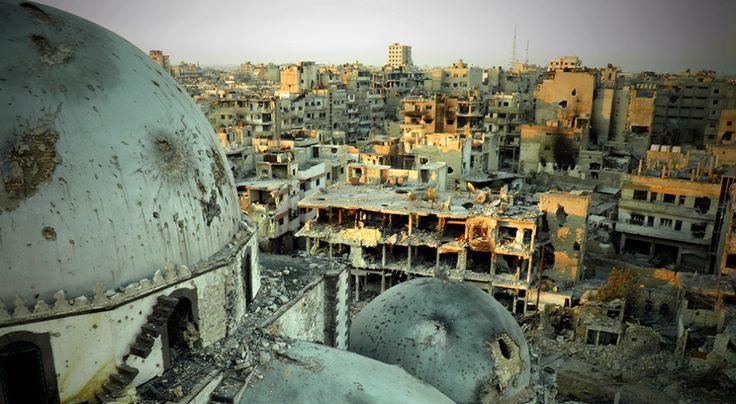 Syrie: Homs, ville frondeuse, ville fantôme