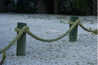 How to Build a Seaside Rope Fence | eHow