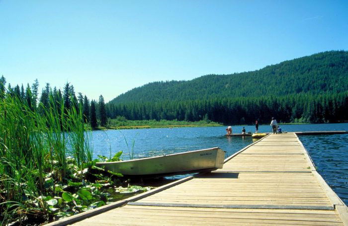 6 Glorious Campgrounds In Idaho Where No Reservation Is Required #camping #hacks